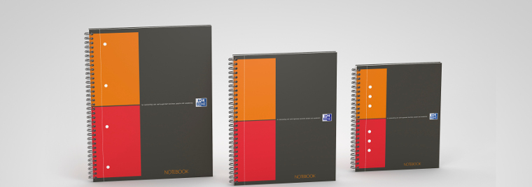 OXFORD International Notebook, professional notebook, connected notebook
