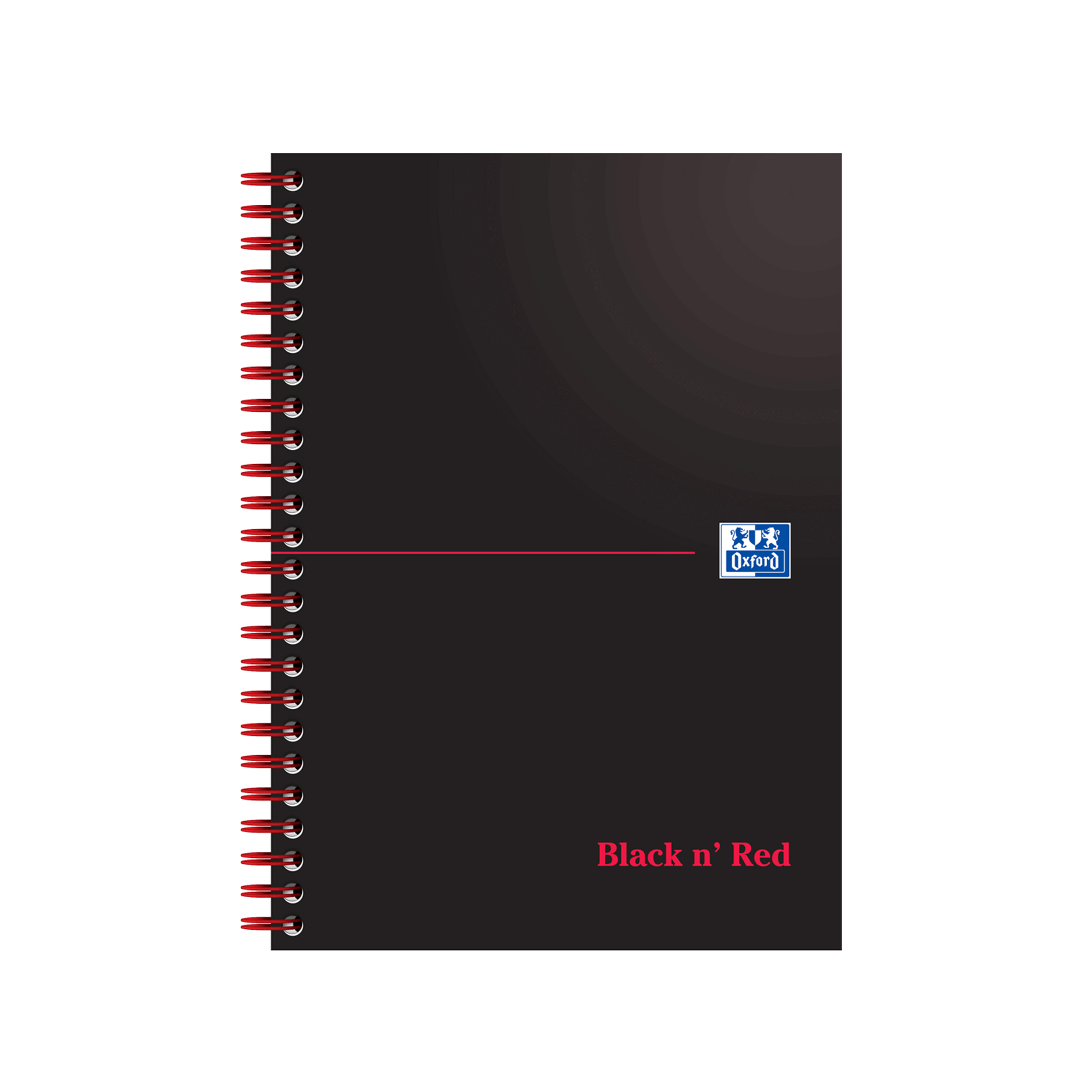 Oxford Black n Red notebook