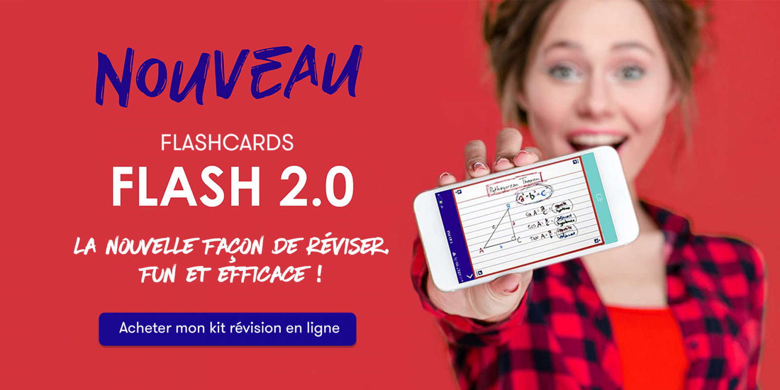 Flashcards OXFORD FLASH 2.0 la nouvelle façon de réviser fun et efficace