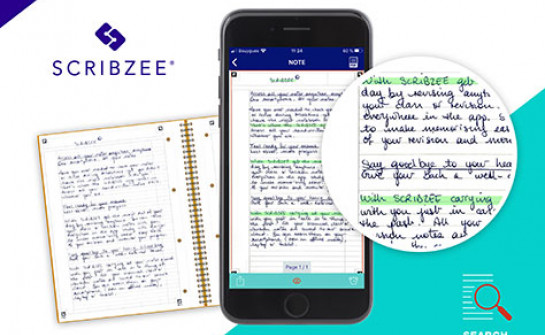 With SCRIBZEE App, stop searching for your handwritten notes, find them