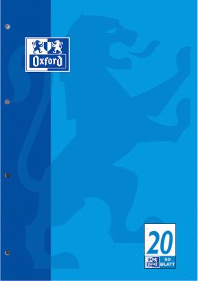 LANDRÉ Schulblock DIN A4 Lineatur 20 blanko 50 Blatt