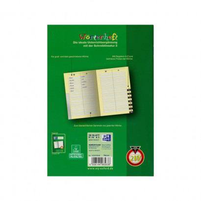 Oxford Learning systems A5 lexicon exercise book - ruling 2W-56 pages-90 gsm Optik Paper® -alphabetic register-stapled-green - 100059868_1100_1559303860 - Oxford Learning systems A5 lexicon exercise book - ruling 2W-56 pages-90 gsm Optik Paper® -alphabetic register-stapled-green - 100059868_1500_1553649869 - Oxford Learning systems A5 lexicon exercise book - ruling 2W-56 pages-90 gsm Optik Paper® -alphabetic register-stapled-green - 100059868_2500_1553649885