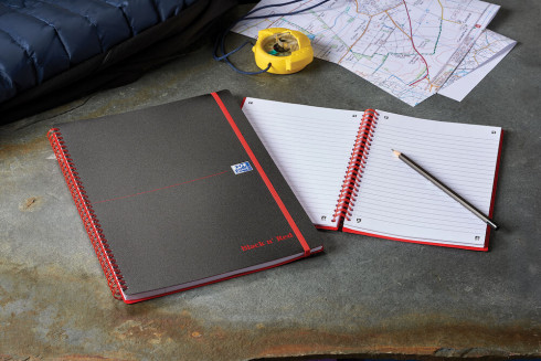 Oxford Black n' Red A4 Poly Cover Wirebound Notebook Ruled 140 Page Black Scribzee-enabled -  - 100080166_1100_1561095119 - Oxford Black n' Red A4 Poly Cover Wirebound Notebook Ruled 140 Page Black Scribzee-enabled -  - 100080166_4700_1553547766