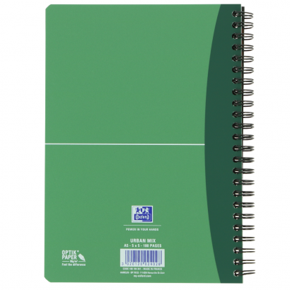 OXFORD Office Urban Mix Notebook - A5 - Polypropylene Cover - Twin-wire - Ruled - 180 Pages - SCRIBZEE® Compatible - Assorted Colours - 100101300_1200_1599067381 - OXFORD Office Urban Mix Notebook - A5 - Polypropylene Cover - Twin-wire - Ruled - 180 Pages - SCRIBZEE® Compatible - Assorted Colours - 100101300_1301_1599066748 - OXFORD Office Urban Mix Notebook - A5 - Polypropylene Cover - Twin-wire - Ruled - 180 Pages - SCRIBZEE® Compatible - Assorted Colours - 100101300_1302_1599066872 - OXFORD Office Urban Mix Notebook - A5 - Polypropylene Cover - Twin-wire - Ruled - 180 Pages - SCRIBZEE® Compatible - Assorted Colours - 100101300_1303_1599066996 - OXFORD Office Urban Mix Notebook - A5 - Polypropylene Cover - Twin-wire - Ruled - 180 Pages - SCRIBZEE® Compatible - Assorted Colours - 100101300_1103_1599067000 - OXFORD Office Urban Mix Notebook - A5 - Polypropylene Cover - Twin-wire - Ruled - 180 Pages - SCRIBZEE® Compatible - Assorted Colours - 100101300_1100_1599067124 - OXFORD Office Urban Mix Notebook - A5 - Polypropylene Cover - Twin-wire - Ruled - 180 Pages - SCRIBZEE® Compatible - Assorted Colours - 100101300_1300_1599067129 - OXFORD Office Urban Mix Notebook - A5 - Polypropylene Cover - Twin-wire - Ruled - 180 Pages - SCRIBZEE® Compatible - Assorted Colours - 100101300_1304_1599067132 - OXFORD Office Urban Mix Notebook - A5 - Polypropylene Cover - Twin-wire - Ruled - 180 Pages - SCRIBZEE® Compatible - Assorted Colours - 100101300_1101_1599067256 - OXFORD Office Urban Mix Notebook - A5 - Polypropylene Cover - Twin-wire - Ruled - 180 Pages - SCRIBZEE® Compatible - Assorted Colours - 100101300_1102_1599067504 - OXFORD Office Urban Mix Notebook - A5 - Polypropylene Cover - Twin-wire - Ruled - 180 Pages - SCRIBZEE® Compatible - Assorted Colours - 100101300_1500_1599067509 - OXFORD Office Urban Mix Notebook - A5 - Polypropylene Cover - Twin-wire - Ruled - 180 Pages - SCRIBZEE® Compatible - Assorted Colours - 100101300_1104_1599067513 - OXFORD Office Urban Mix Notebook - A5 - Polypropylene Cover - Twin-wire - Ruled - 180 Pages - SCRIBZEE® Compatible - Assorted Colours - 100101300_2502_1599067518 - OXFORD Office Urban Mix Notebook - A5 - Polypropylene Cover - Twin-wire - Ruled - 180 Pages - SCRIBZEE® Compatible - Assorted Colours - 100101300_2503_1599067642 - OXFORD Office Urban Mix Notebook - A5 - Polypropylene Cover - Twin-wire - Ruled - 180 Pages - SCRIBZEE® Compatible - Assorted Colours - 100101300_2501_1599067646 - OXFORD Office Urban Mix Notebook - A5 - Polypropylene Cover - Twin-wire - Ruled - 180 Pages - SCRIBZEE® Compatible - Assorted Colours - 100101300_2500_1599067651