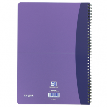 OXFORD Office Urban Mix Notebook - A4 – polypropenomslag – dobbel wire – linjert – 100 sider – SCRIBZEE®-kompatibel – assorterte farger - 100101523_1200_1599071585 - OXFORD Office Urban Mix Notebook - A4 – polypropenomslag – dobbel wire – linjert – 100 sider – SCRIBZEE®-kompatibel – assorterte farger - 100101523_1103_1599071461 - OXFORD Office Urban Mix Notebook - A4 – polypropenomslag – dobbel wire – linjert – 100 sider – SCRIBZEE®-kompatibel – assorterte farger - 100101523_1100_1599071708 - OXFORD Office Urban Mix Notebook - A4 – polypropenomslag – dobbel wire – linjert – 100 sider – SCRIBZEE®-kompatibel – assorterte farger - 100101523_2500_1599071832 - OXFORD Office Urban Mix Notebook - A4 – polypropenomslag – dobbel wire – linjert – 100 sider – SCRIBZEE®-kompatibel – assorterte farger - 100101523_2501_1599071956 - OXFORD Office Urban Mix Notebook - A4 – polypropenomslag – dobbel wire – linjert – 100 sider – SCRIBZEE®-kompatibel – assorterte farger - 100101523_1101_1599072077 - OXFORD Office Urban Mix Notebook - A4 – polypropenomslag – dobbel wire – linjert – 100 sider – SCRIBZEE®-kompatibel – assorterte farger - 100101523_2503_1599072200