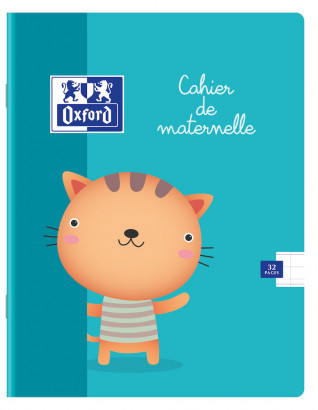 OXFORD PRESCHOOL NOTEBOOK - 17x22cm - Soft cover - Stapled - 3/10mm Double-spaced ruling - 32 pages - Assorted colours - 100101937_1200_1572335526 - OXFORD PRESCHOOL NOTEBOOK - 17x22cm - Soft cover - Stapled - 3/10mm Double-spaced ruling - 32 pages - Assorted colours - 100101937_1100_1561084363
