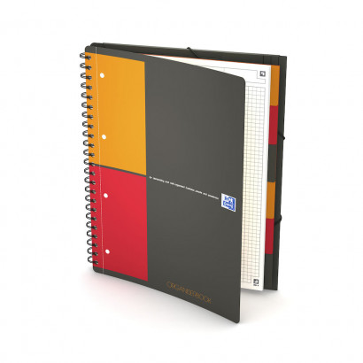 Oxford International Organiserbook - A4+ - 5 mm kariert - 80 Blatt - Doppelspirale - Polypropylene Cover - SCRIBZEE® kompatibel - Grau - 100102777_1101_1595002123 - Oxford International Organiserbook - A4+ - 5 mm kariert - 80 Blatt - Doppelspirale - Polypropylene Cover - SCRIBZEE® kompatibel - Grau - 100102777_1200_1595284505 - Oxford International Organiserbook - A4+ - 5 mm kariert - 80 Blatt - Doppelspirale - Polypropylene Cover - SCRIBZEE® kompatibel - Grau - 100102777_1600_1553722971