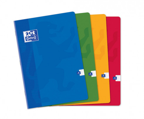 OXFORD CLASSIC NOTEBOOK - A4 - Soft card cover - Stapled - Seyès Squares - 48 pages - Assorted colours - 100103078_1100_1583238453 - OXFORD CLASSIC NOTEBOOK - A4 - Soft card cover - Stapled - Seyès Squares - 48 pages - Assorted colours - 100103078_1101_1583238455 - OXFORD CLASSIC NOTEBOOK - A4 - Soft card cover - Stapled - Seyès Squares - 48 pages - Assorted colours - 100103078_1102_1583238457 - OXFORD CLASSIC NOTEBOOK - A4 - Soft card cover - Stapled - Seyès Squares - 48 pages - Assorted colours - 100103078_1103_1583238459 - OXFORD CLASSIC NOTEBOOK - A4 - Soft card cover - Stapled - Seyès Squares - 48 pages - Assorted colours - 100103078_1200_1583238461