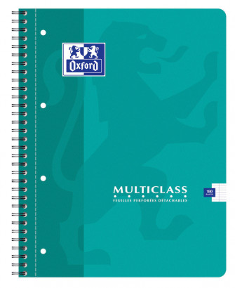 OXFORD CLASSIC MULTICLASS NOTEBOOK - A4+ - Soft card cover - Twin-wire - Seyès Squares - 180 pages - Assorted colours - 100103772_1100_1583238630 - OXFORD CLASSIC MULTICLASS NOTEBOOK - A4+ - Soft card cover - Twin-wire - Seyès Squares - 180 pages - Assorted colours - 100103772_1101_1583238632