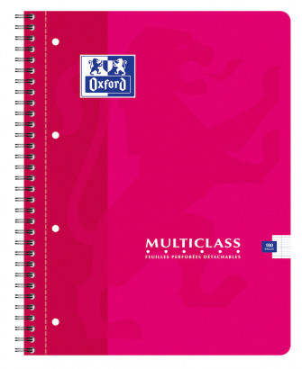 OXFORD CLASSIC MULTICLASS NOTEBOOK - A4+ - Soft card cover - Twin-wire - Seyès Squares - 180 pages - Assorted colours - 100103772_1100_1583238630 - OXFORD CLASSIC MULTICLASS NOTEBOOK - A4+ - Soft card cover - Twin-wire - Seyès Squares - 180 pages - Assorted colours - 100103772_1101_1583238632 - OXFORD CLASSIC MULTICLASS NOTEBOOK - A4+ - Soft card cover - Twin-wire - Seyès Squares - 180 pages - Assorted colours - 100103772_1102_1583238634 - OXFORD CLASSIC MULTICLASS NOTEBOOK - A4+ - Soft card cover - Twin-wire - Seyès Squares - 180 pages - Assorted colours - 100103772_1103_1583238636
