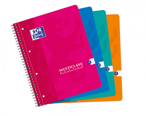 OXFORD CLASSIC MULTICLASS NOTEBOOK - A4+ - Soft card cover - Twin-wire - Seyès Squares - 180 pages - Assorted colours - 100103772_1100_1583238630 - OXFORD CLASSIC MULTICLASS NOTEBOOK - A4+ - Soft card cover - Twin-wire - Seyès Squares - 180 pages - Assorted colours - 100103772_1101_1583238632 - OXFORD CLASSIC MULTICLASS NOTEBOOK - A4+ - Soft card cover - Twin-wire - Seyès Squares - 180 pages - Assorted colours - 100103772_1102_1583238634 - OXFORD CLASSIC MULTICLASS NOTEBOOK - A4+ - Soft card cover - Twin-wire - Seyès Squares - 180 pages - Assorted colours - 100103772_1103_1583238636 - OXFORD CLASSIC MULTICLASS NOTEBOOK - A4+ - Soft card cover - Twin-wire - Seyès Squares - 180 pages - Assorted colours - 100103772_1200_1583238638