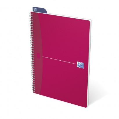 OXFORD Office My Colours Notebook - A4 - Polypropylene Cover - Twin-wire - Ruled - 180 Pages - SCRIBZEE® Compatible - Assorted Colours - 100104241_1305_1583238840