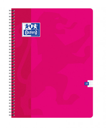 OXFORD CLASSIC NOTEBOOK - 24x32cm - Soft card cover - Twin-wire - 5x5mm Squares - 100 pages - Assorted colours - 100104405_1100_1583238915 - OXFORD CLASSIC NOTEBOOK - 24x32cm - Soft card cover - Twin-wire - 5x5mm Squares - 100 pages - Assorted colours - 100104405_1101_1583238917 - OXFORD CLASSIC NOTEBOOK - 24x32cm - Soft card cover - Twin-wire - 5x5mm Squares - 100 pages - Assorted colours - 100104405_1102_1583238918 - OXFORD CLASSIC NOTEBOOK - 24x32cm - Soft card cover - Twin-wire - 5x5mm Squares - 100 pages - Assorted colours - 100104405_1103_1583238920