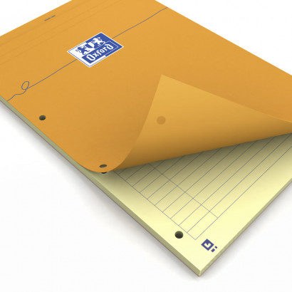OXFORD Orange Notepad - A4+ - Stapled - Coated Card Cover - Ruled - 160 Pages - SCRIBZEE® Compatible - Orange - 100106287_1100_1559306647 - OXFORD Orange Notepad - A4+ - Stapled - Coated Card Cover - Ruled - 160 Pages - SCRIBZEE® Compatible - Orange - 100106287_1600_1553725768