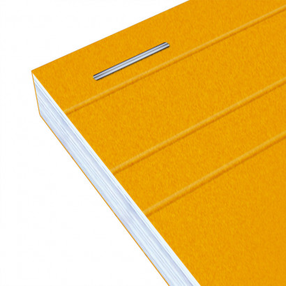 OXFORD Orange Notepad - A6 - Stapled - Coated Card Cover - 5mm Squares - 160 Pages - Grey - 100106299_1300_1583239543 - OXFORD Orange Notepad - A6 - Stapled - Coated Card Cover - 5mm Squares - 160 Pages - Grey - 100106299_2200_1583239545
