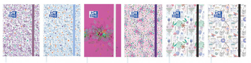 AGENDA OXFORD FLOWERS - 12x18cm - 1 jour par page - Cousu - 352 pages - Sept 20 à Sept 21 - Compatible SCRIBZEE® - 100739040_1200_1556346415