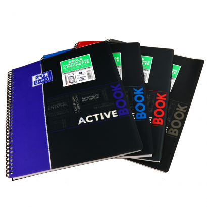 OXFORD STUDENTS ACTIVEBOOK Notebook - A4+ - Polypro cover - Twin-wire - Seyès Squares - 160 pages - SCRIBZEE® compatible  - Assorted colours - 400019519_1101_1553278771 - OXFORD STUDENTS ACTIVEBOOK Notebook - A4+ - Polypro cover - Twin-wire - Seyès Squares - 160 pages - SCRIBZEE® compatible  - Assorted colours - 400019519_1100_1553278767 - OXFORD STUDENTS ACTIVEBOOK Notebook - A4+ - Polypro cover - Twin-wire - Seyès Squares - 160 pages - SCRIBZEE® compatible  - Assorted colours - 400019519_1102_1553278775 - OXFORD STUDENTS ACTIVEBOOK Notebook - A4+ - Polypro cover - Twin-wire - Seyès Squares - 160 pages - SCRIBZEE® compatible  - Assorted colours - 400019519_1103_1553278779 - OXFORD STUDENTS ACTIVEBOOK Notebook - A4+ - Polypro cover - Twin-wire - Seyès Squares - 160 pages - SCRIBZEE® compatible  - Assorted colours - 400019519_1200_1576232929