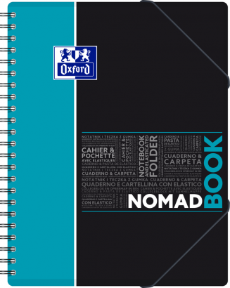 OXFORD STUDENTS NOMADBOOK Notebook - A4+ - Polypro cover - Twin-wire - Seyès Squares - 160 pages - SCRIBZEE® compatible - Assorted colours - 400019521_1101_1583240369 - OXFORD STUDENTS NOMADBOOK Notebook - A4+ - Polypro cover - Twin-wire - Seyès Squares - 160 pages - SCRIBZEE® compatible - Assorted colours - 400019521_1100_1583240368