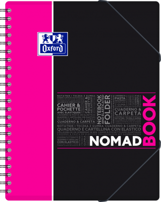 OXFORD STUDENTS NOMADBOOK Notebook - A4+ - Polypro cover - Twin-wire - Seyès Squares - 160 pages - SCRIBZEE® compatible - Assorted colours - 400019521_1101_1583240369 - OXFORD STUDENTS NOMADBOOK Notebook - A4+ - Polypro cover - Twin-wire - Seyès Squares - 160 pages - SCRIBZEE® compatible - Assorted colours - 400019521_1100_1583240368 - OXFORD STUDENTS NOMADBOOK Notebook - A4+ - Polypro cover - Twin-wire - Seyès Squares - 160 pages - SCRIBZEE® compatible - Assorted colours - 400019521_1102_1583240370