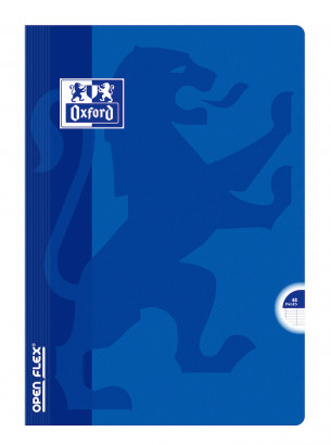 OXFORD OPENFLEX NOTEBOOK - A4 - Polypro cover - Stapled - Seyès squares - 48 pages - Assorted colours - 400019546_1100_1583240447