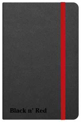 Oxford Black n' Red A6 Hardback Casebound Business Journal Ruled & Numbered 144 Page Black -  - 400033672_1100_1554292072