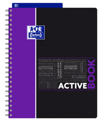 OXFORD STUDENTS ACTIVEBOOK Notebook - A4+ - Polypro cover - Twin-wire - 7mm Ruled - 160 pages - SCRIBZEE® compatible - Assorted colours - 400037402_1102_1559310842 - OXFORD STUDENTS ACTIVEBOOK Notebook - A4+ - Polypro cover - Twin-wire - 7mm Ruled - 160 pages - SCRIBZEE® compatible - Assorted colours - 400037402_1100_1559310838 - OXFORD STUDENTS ACTIVEBOOK Notebook - A4+ - Polypro cover - Twin-wire - 7mm Ruled - 160 pages - SCRIBZEE® compatible - Assorted colours - 400037402_1101_1559310840 - OXFORD STUDENTS ACTIVEBOOK Notebook - A4+ - Polypro cover - Twin-wire - 7mm Ruled - 160 pages - SCRIBZEE® compatible - Assorted colours - 400037402_1103_1559310844