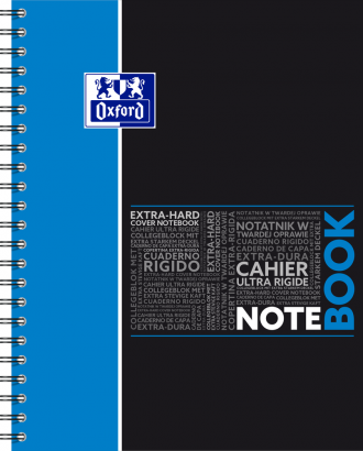 OXFORD ETUDIANTS Cahier NOTEBOOK - A4+ - Couverture carte rigide - Double spirale - Grands carreaux Seyès - 160 pages - Compatible SCRIBZEE® - Couleurs assorties - 400037405_1200_1583240888 - OXFORD ETUDIANTS Cahier NOTEBOOK - A4+ - Couverture carte rigide - Double spirale - Grands carreaux Seyès - 160 pages - Compatible SCRIBZEE® - Couleurs assorties - 400037405_1101_1583240885