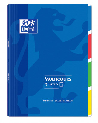 OXFORD OPENFLEX QUATTRO NOTEBOOK -  24x32cm - Polypro cover - Stapled - Seyès squares - 140 pages - Assorted colours - 400037657_1100_1583240968 - OXFORD OPENFLEX QUATTRO NOTEBOOK -  24x32cm - Polypro cover - Stapled - Seyès squares - 140 pages - Assorted colours - 400037657_1102_1583240977 - OXFORD OPENFLEX QUATTRO NOTEBOOK -  24x32cm - Polypro cover - Stapled - Seyès squares - 140 pages - Assorted colours - 400037657_1103_1583240987