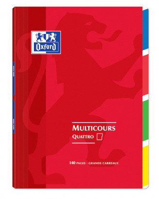 OXFORD OPENFLEX QUATTRO NOTEBOOK -  24x32cm - Polypro cover - Stapled - Seyès squares - 140 pages - Assorted colours - 400037657_1100_1583240968 - OXFORD OPENFLEX QUATTRO NOTEBOOK -  24x32cm - Polypro cover - Stapled - Seyès squares - 140 pages - Assorted colours - 400037657_1102_1583240977 - OXFORD OPENFLEX QUATTRO NOTEBOOK -  24x32cm - Polypro cover - Stapled - Seyès squares - 140 pages - Assorted colours - 400037657_1103_1583240987 - OXFORD OPENFLEX QUATTRO NOTEBOOK -  24x32cm - Polypro cover - Stapled - Seyès squares - 140 pages - Assorted colours - 400037657_1104_1583240997