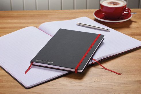 Oxford Black n' Red A4 Hardback Casebound Business Journal Ruled & Numbered 144 Page Black -  - 400038675_1100_1554292084 - Oxford Black n' Red A4 Hardback Casebound Business Journal Ruled & Numbered 144 Page Black -  - 400038675_4700_1553547976