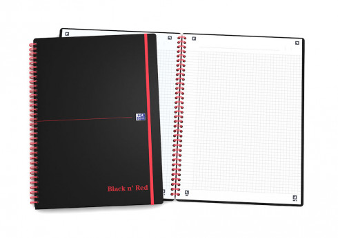 Oxford Black N' Red Cahier - A4 - Couverture polypro - Reliure intégrale - Petits carreaux 5x5 - 140 pages - Compatible SCRIBZEE ® - Noir - 400047654_1100_1583161885 - Oxford Black N' Red Cahier - A4 - Couverture polypro - Reliure intégrale - Petits carreaux 5x5 - 140 pages - Compatible SCRIBZEE ® - Noir - 400047654_1500_1553734006