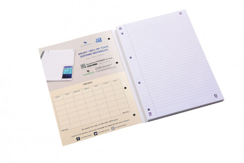 Oxford Campus A4 Sidebound Refill Pad Ruled with Margin Ruled with Margin 300 Pages Assorted -  - 400050213_1100_1561077069 - Oxford Campus A4 Sidebound Refill Pad Ruled with Margin Ruled with Margin 300 Pages Assorted -  - 400050213_1500_1584016512