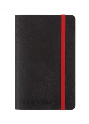 Oxford Black n' Red A6 Soft Cover Casebound Business Journal Ruled & Numbered 144 Page Black -  - 400051205_1100_1561095057