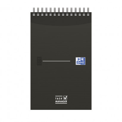 OXFORD Office Essentials Task Manager - 12,5x20cm - Soepele Kartonnen Kaft - Dubbelspiraal - 70 Vel - Specifieke Liniatuur - Assorti - 400055727_1400_1583241922 - OXFORD Office Essentials Task Manager - 12,5x20cm - Soepele Kartonnen Kaft - Dubbelspiraal - 70 Vel - Specifieke Liniatuur - Assorti - 400055727_1100_1583241917