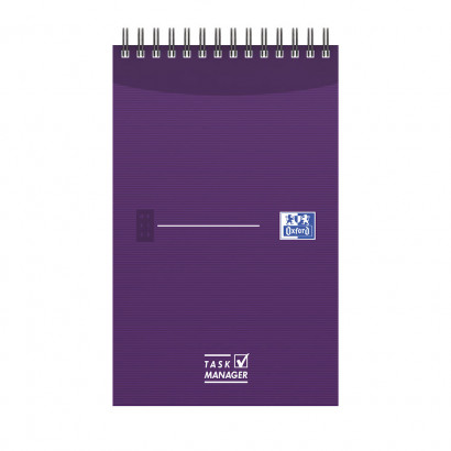OXFORD Office Essentials Task Manager - 12,5x20cm - Soepele Kartonnen Kaft - Dubbelspiraal - 70 Vel - Specifieke Liniatuur - Assorti - 400055727_1400_1583241922 - OXFORD Office Essentials Task Manager - 12,5x20cm - Soepele Kartonnen Kaft - Dubbelspiraal - 70 Vel - Specifieke Liniatuur - Assorti - 400055727_1100_1583241917 - OXFORD Office Essentials Task Manager - 12,5x20cm - Soepele Kartonnen Kaft - Dubbelspiraal - 70 Vel - Specifieke Liniatuur - Assorti - 400055727_1101_1583241918