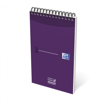 OXFORD Office Essentials Task Manager - 12,5x20cm - Soepele Kartonnen Kaft - Dubbelspiraal - 70 Vel - Specifieke Liniatuur - Assorti - 400055727_1400_1583241922 - OXFORD Office Essentials Task Manager - 12,5x20cm - Soepele Kartonnen Kaft - Dubbelspiraal - 70 Vel - Specifieke Liniatuur - Assorti - 400055727_1100_1583241917 - OXFORD Office Essentials Task Manager - 12,5x20cm - Soepele Kartonnen Kaft - Dubbelspiraal - 70 Vel - Specifieke Liniatuur - Assorti - 400055727_1101_1583241918 - OXFORD Office Essentials Task Manager - 12,5x20cm - Soepele Kartonnen Kaft - Dubbelspiraal - 70 Vel - Specifieke Liniatuur - Assorti - 400055727_1300_1583241919