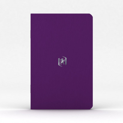 OXFORD Pocket Notes Notebook - 9x14cm - Soft Card Cover - Stapled - Ruled - 48 Pages - Purple - 400076450_1100_1583242263