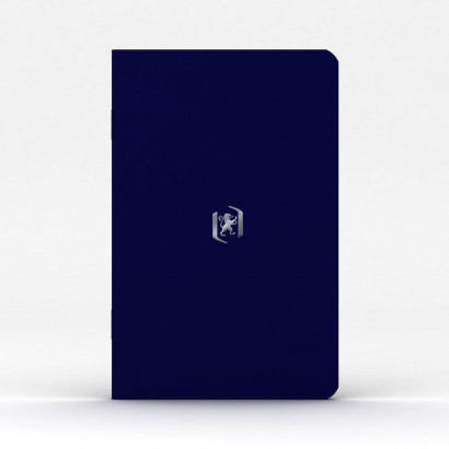 Oxford Pocket Notes Carnet - 9x14 cm - Couverture souple - Agraphé - Ligné - 48 pages - Bleu Roi - 400076455_1100_1583242378