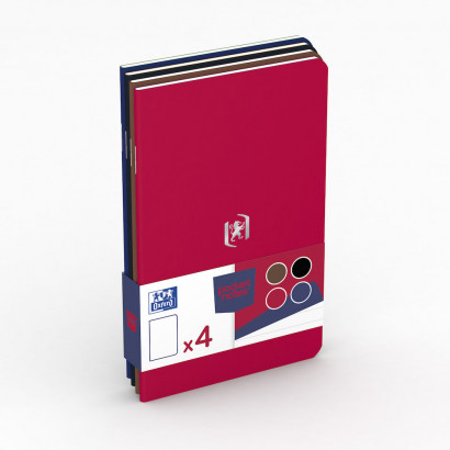 OXFORD Pocket Notes Notebook - 9x14cm - Soft Card Cover - Stapled - Ruled - 48 Pages - Assorted Classic Colours (Pack of 4) - 400077734_1102_1561076107 - OXFORD Pocket Notes Notebook - 9x14cm - Soft Card Cover - Stapled - Ruled - 48 Pages - Assorted Classic Colours (Pack of 4) - 400077734_1100_1583242493 - OXFORD Pocket Notes Notebook - 9x14cm - Soft Card Cover - Stapled - Ruled - 48 Pages - Assorted Classic Colours (Pack of 4) - 400077734_1300_1583242494