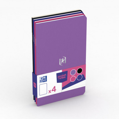 OXFORD Pocket Notes Notebook - 9x14cm - Soft Card Cover - Stapled - Ruled - 48 Pages - Assorted Mixed Colours (Pack of 4) - 400077737_1100_1594290049 - OXFORD Pocket Notes Notebook - 9x14cm - Soft Card Cover - Stapled - Ruled - 48 Pages - Assorted Mixed Colours (Pack of 4) - 400077737_1100_1594290049 - OXFORD Pocket Notes Notebook - 9x14cm - Soft Card Cover - Stapled - Ruled - 48 Pages - Assorted Mixed Colours (Pack of 4) - 400077737_1300_1583242531