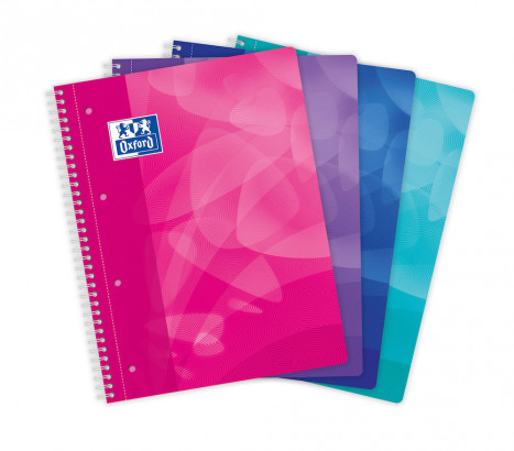 OXFORD POLYPRO LAGOON NOTEBOOK - A4+ - Polypro cover - Twin-wire - Seyès Squares - 160 pages - SCRIBZEE ® Compatible - Assorted colours - 400080674_1100_1583243085 - OXFORD POLYPRO LAGOON NOTEBOOK - A4+ - Polypro cover - Twin-wire - Seyès Squares - 160 pages - SCRIBZEE ® Compatible - Assorted colours - 400080674_1101_1583243095 - OXFORD POLYPRO LAGOON NOTEBOOK - A4+ - Polypro cover - Twin-wire - Seyès Squares - 160 pages - SCRIBZEE ® Compatible - Assorted colours - 400080674_1102_1583243105 - OXFORD POLYPRO LAGOON NOTEBOOK - A4+ - Polypro cover - Twin-wire - Seyès Squares - 160 pages - SCRIBZEE ® Compatible - Assorted colours - 400080674_1103_1583243115 - OXFORD POLYPRO LAGOON NOTEBOOK - A4+ - Polypro cover - Twin-wire - Seyès Squares - 160 pages - SCRIBZEE ® Compatible - Assorted colours - 400080674_1200_1583243125