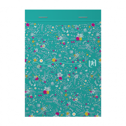 OXFORD Floral Notepad - A6 - Soft Card Cover - Stapled - Ruled - 160 Pages - Assorted Colours - 400094827_1400_1618996617 - OXFORD Floral Notepad - A6 - Soft Card Cover - Stapled - Ruled - 160 Pages - Assorted Colours - 400094827_1100_1618996567