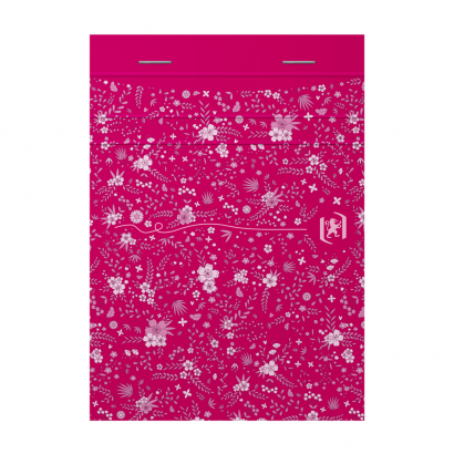 OXFORD Floral Notepad - A6 - Soft Card Cover - Stapled - Ruled - 160 Pages - Assorted Colours - 400094827_1400_1618996617 - OXFORD Floral Notepad - A6 - Soft Card Cover - Stapled - Ruled - 160 Pages - Assorted Colours - 400094827_1100_1618996567 - OXFORD Floral Notepad - A6 - Soft Card Cover - Stapled - Ruled - 160 Pages - Assorted Colours - 400094827_1101_1618996592