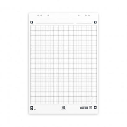 OXFORD Smart Charts Flipchart Refill Pad - 65x98cm - Soft Card Cover - Glued - 25mm Squares - 20 Sheets - SCRIBZEE® Compatible - 400096278_1100_1583159788 - OXFORD Smart Charts Flipchart Refill Pad - 65x98cm - Soft Card Cover - Glued - 25mm Squares - 20 Sheets - SCRIBZEE® Compatible - 400096278_1300_1583159789 - OXFORD Smart Charts Flipchart Refill Pad - 65x98cm - Soft Card Cover - Glued - 25mm Squares - 20 Sheets - SCRIBZEE® Compatible - 400096278_1600_1583159791