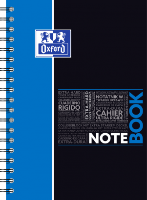 OXFORD ETUDIANTS Cahier NOTEBOOK - B5 tablette - Couverture carte rigide - Double spirale - Grands carreaux Seyès - 160 pages - Compatible SCRIBZEE® - Couleurs assorties - 400100698_1200_1583207844 - OXFORD ETUDIANTS Cahier NOTEBOOK - B5 tablette - Couverture carte rigide - Double spirale - Grands carreaux Seyès - 160 pages - Compatible SCRIBZEE® - Couleurs assorties - 400100698_1103_1583196732