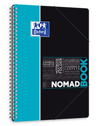 OXFORD ETUDIANTS Cahier NOMADBOOK - B5 tablette - Couverture polypro - Double spirale - Grands carreaux Seyès - 160 pages - Compatible SCRIBZEE® - Couleurs assorties - 400100860_1105_1583196755 - OXFORD ETUDIANTS Cahier NOMADBOOK - B5 tablette - Couverture polypro - Double spirale - Grands carreaux Seyès - 160 pages - Compatible SCRIBZEE® - Couleurs assorties - 400100860_1100_1553284474