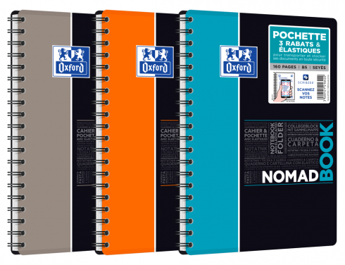 OXFORD ETUDIANTS Cahier NOMADBOOK - B5 tablette - Couverture polypro - Double spirale - Grands carreaux Seyès - 160 pages - Compatible SCRIBZEE® - Couleurs assorties - 400100860_1105_1583196755 - OXFORD ETUDIANTS Cahier NOMADBOOK - B5 tablette - Couverture polypro - Double spirale - Grands carreaux Seyès - 160 pages - Compatible SCRIBZEE® - Couleurs assorties - 400100860_1100_1553284474 - OXFORD ETUDIANTS Cahier NOMADBOOK - B5 tablette - Couverture polypro - Double spirale - Grands carreaux Seyès - 160 pages - Compatible SCRIBZEE® - Couleurs assorties - 400100860_1101_1553284475 - OXFORD ETUDIANTS Cahier NOMADBOOK - B5 tablette - Couverture polypro - Double spirale - Grands carreaux Seyès - 160 pages - Compatible SCRIBZEE® - Couleurs assorties - 400100860_1102_1553284477 - OXFORD ETUDIANTS Cahier NOMADBOOK - B5 tablette - Couverture polypro - Double spirale - Grands carreaux Seyès - 160 pages - Compatible SCRIBZEE® - Couleurs assorties - 400100860_1103_1583196753 - OXFORD ETUDIANTS Cahier NOMADBOOK - B5 tablette - Couverture polypro - Double spirale - Grands carreaux Seyès - 160 pages - Compatible SCRIBZEE® - Couleurs assorties - 400100860_1104_1583196754 - OXFORD ETUDIANTS Cahier NOMADBOOK - B5 tablette - Couverture polypro - Double spirale - Grands carreaux Seyès - 160 pages - Compatible SCRIBZEE® - Couleurs assorties - 400100860_1106_1583196756 - OXFORD ETUDIANTS Cahier NOMADBOOK - B5 tablette - Couverture polypro - Double spirale - Grands carreaux Seyès - 160 pages - Compatible SCRIBZEE® - Couleurs assorties - 400100860_2300_1553284660 - OXFORD ETUDIANTS Cahier NOMADBOOK - B5 tablette - Couverture polypro - Double spirale - Grands carreaux Seyès - 160 pages - Compatible SCRIBZEE® - Couleurs assorties - 400100860_2301_1553284662 - OXFORD ETUDIANTS Cahier NOMADBOOK - B5 tablette - Couverture polypro - Double spirale - Grands carreaux Seyès - 160 pages - Compatible SCRIBZEE® - Couleurs assorties - 400100860_1201_1583207824