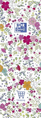OXFORD Floral Shopping Notepad - 7,4x21cm - Soft Card Cover - Stapled - Ruled - 160 Pages - Assorted Colours - 400111054_1400_1553573980 - OXFORD Floral Shopping Notepad - 7,4x21cm - Soft Card Cover - Stapled - Ruled - 160 Pages - Assorted Colours - 400111054_1100_1559846578