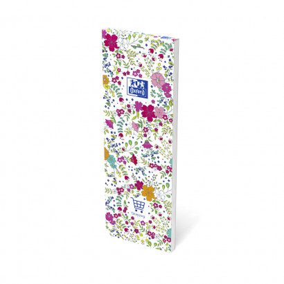 OXFORD Floral Shopping Notepad - 7,4x21cm - Soft Card Cover - Stapled - Ruled - 160 Pages - Assorted Colours - 400111054_1400_1553573980 - OXFORD Floral Shopping Notepad - 7,4x21cm - Soft Card Cover - Stapled - Ruled - 160 Pages - Assorted Colours - 400111054_1100_1559846578 - OXFORD Floral Shopping Notepad - 7,4x21cm - Soft Card Cover - Stapled - Ruled - 160 Pages - Assorted Colours - 400111054_1102_1559846580 - OXFORD Floral Shopping Notepad - 7,4x21cm - Soft Card Cover - Stapled - Ruled - 160 Pages - Assorted Colours - 400111054_1101_1559846583 - OXFORD Floral Shopping Notepad - 7,4x21cm - Soft Card Cover - Stapled - Ruled - 160 Pages - Assorted Colours - 400111054_1300_1553573987