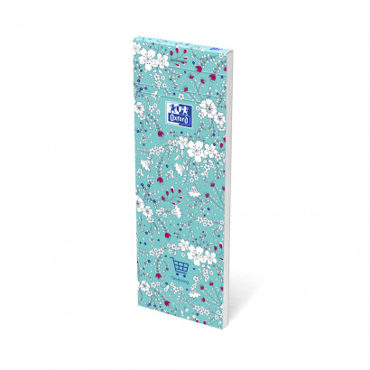 OXFORD Floral Shopping Notepad - 7,4x21cm - Soft Card Cover - Stapled - Ruled - 160 Pages - Assorted Colours - 400111054_1400_1553573980 - OXFORD Floral Shopping Notepad - 7,4x21cm - Soft Card Cover - Stapled - Ruled - 160 Pages - Assorted Colours - 400111054_1100_1559846578 - OXFORD Floral Shopping Notepad - 7,4x21cm - Soft Card Cover - Stapled - Ruled - 160 Pages - Assorted Colours - 400111054_1102_1559846580 - OXFORD Floral Shopping Notepad - 7,4x21cm - Soft Card Cover - Stapled - Ruled - 160 Pages - Assorted Colours - 400111054_1101_1559846583 - OXFORD Floral Shopping Notepad - 7,4x21cm - Soft Card Cover - Stapled - Ruled - 160 Pages - Assorted Colours - 400111054_1300_1553573987 - OXFORD Floral Shopping Notepad - 7,4x21cm - Soft Card Cover - Stapled - Ruled - 160 Pages - Assorted Colours - 400111054_1302_1553573994 - OXFORD Floral Shopping Notepad - 7,4x21cm - Soft Card Cover - Stapled - Ruled - 160 Pages - Assorted Colours - 400111054_1301_1553574000